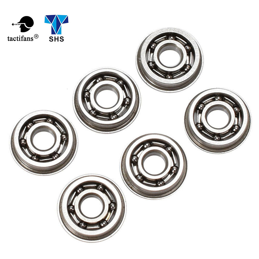Tactifans SHS 6/7/8/9mm Stainless Steel High Precision Ball Bearing For Airsoft AEG Gearbox Gel Blaster Hunting Accessories