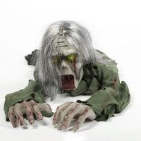 Украшения для Хэллоуин-вечеринки дизайн ужасов ползающие призраки Голосовое управление игрушка электрический глаз светящийся ползающий д...