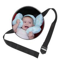Baby Mirror In The Car Safety Rear Seat Adjustable Front View Rear Durable Baby Safety View Back Seat Mirror Kids Monitor|Interior Mirrors| |  -