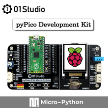 01Studio Raspberry Pi Pico Dual-Core ARM a Low-Cost High-Performance Microcontroller Board with Flexible Digital Interfaces