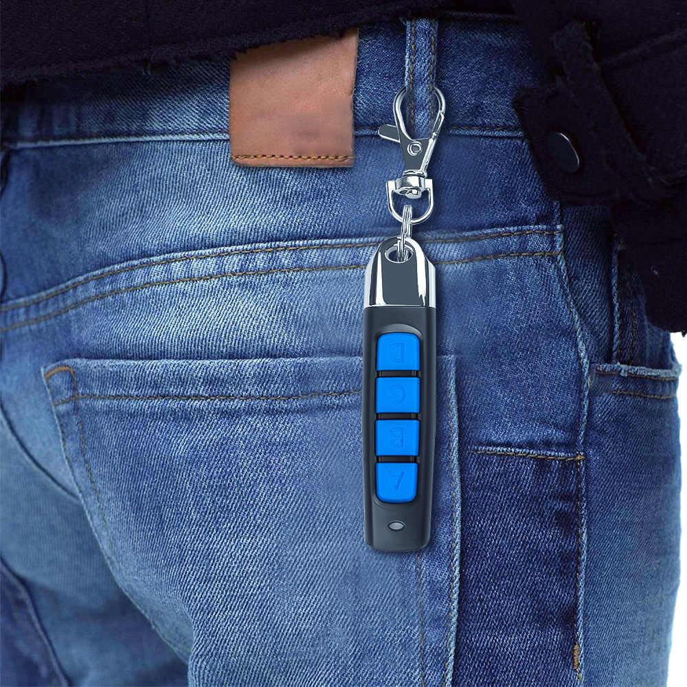 Kebidu 433MHZ A Distanza di Controllo 4 Channe Portello Del Cancello Del Garage Opener Duplicatore di Controllo Remoto Clone Clonazione Codice Chiave Dell'automobile