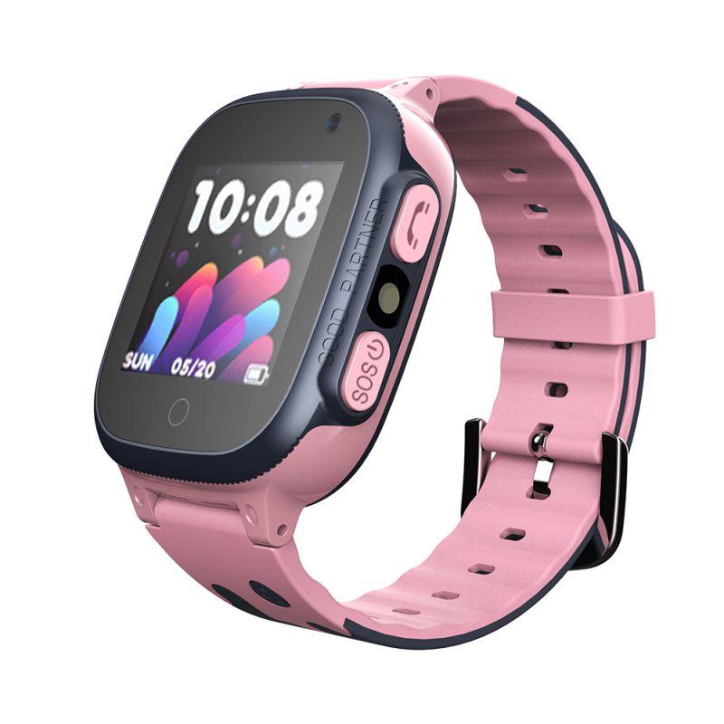 Children Smart Watch DS62 LBS Location Built-in Microphone Liquid Silicone Strap Wristwatch Wearable Device Kid Wristwatch