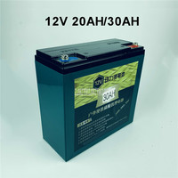 12V 20AH/30AH Lithium Iron Phosphate Battery Outdoor Lithium Battery LiFePO4 Large Capacity For Outdoor Speaker + 14.6V Charger