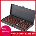 40PCS/ Repair tool batch head Socket Bit Set Kit Repair Tools Combination Tool Set Toolbox