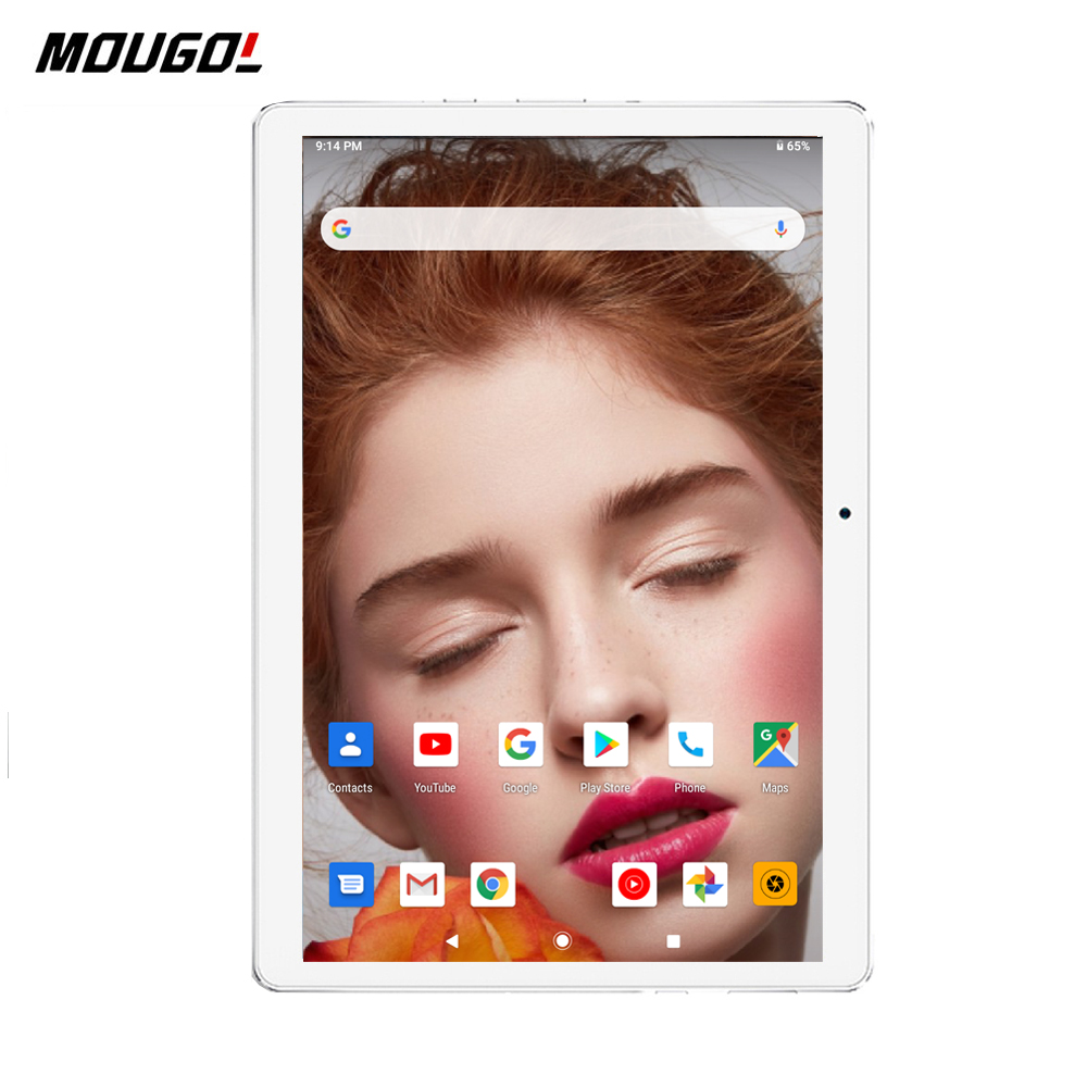 2020 New 10 Inch 3G Wifi Tablet PC Quad Core 2GB RAM 32GB ROM 1280x800 IPS 2.5D Tempered Glass 10.1 Tablets Android 9.0+ Gift