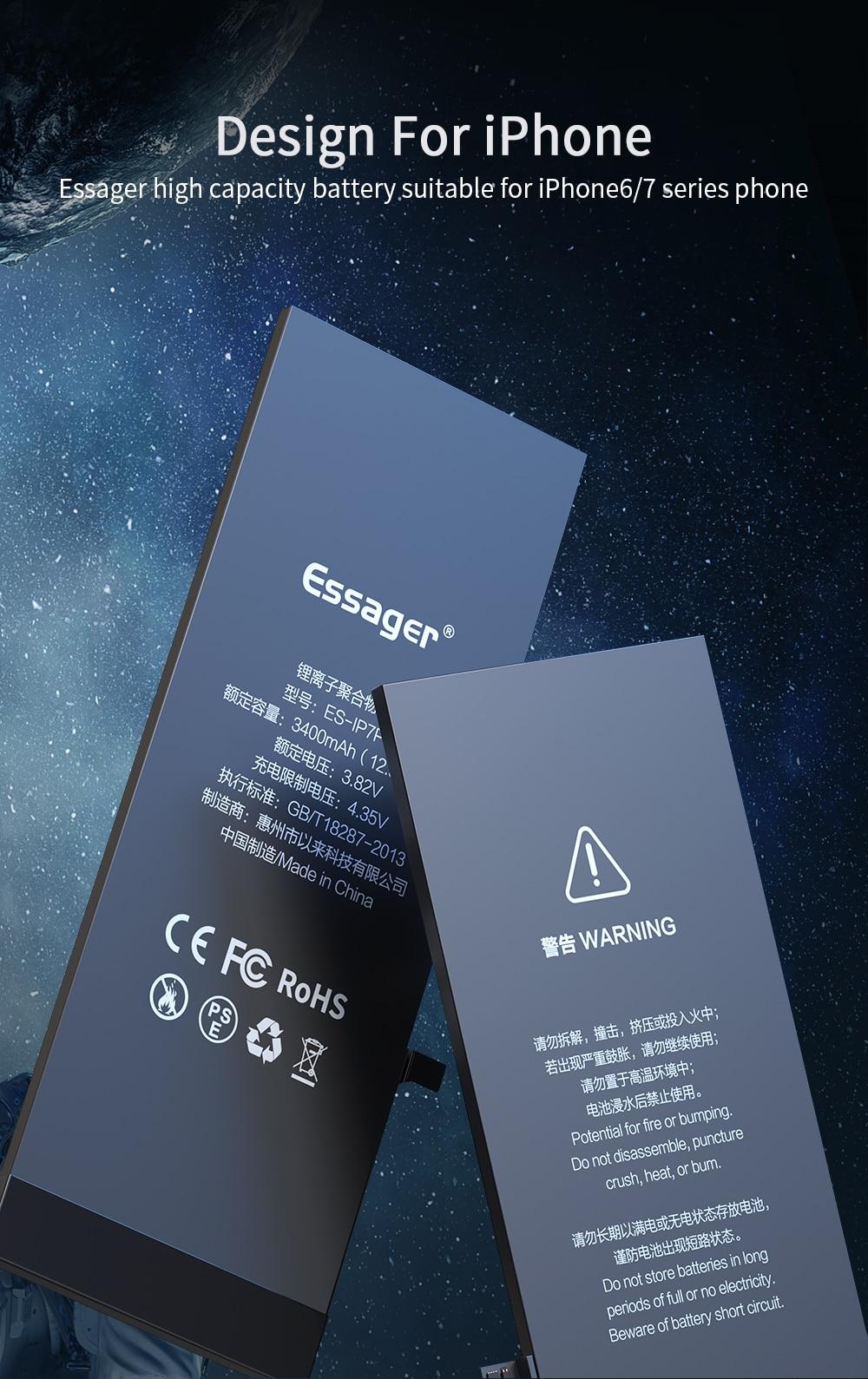Аккумулятор для iphone 6 7 6s plus оригинальный аккумулятор