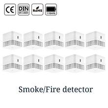 CPVan 5 years battery smoke detector sensor detector CE EN14