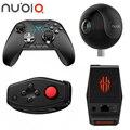 Original zte nubia magic box 5g expansão doca polvo gamepad sem fio-controlador de joystick gamepad bluetooth e alça de 6 eixos