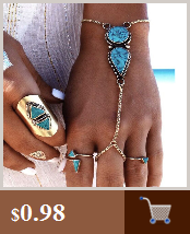 Blast Turkish blue eyes male and female bracelet Muslim jewelry Fatima Palm Demon Eye