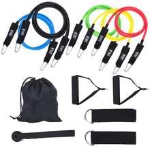 11 шт оборудование для фитнеса tpe шт/компл Тяговая веревка