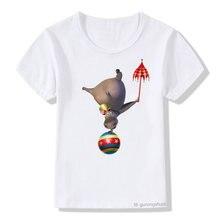 Детская одежда футболка для мальчиков и девочек мадагаскарская