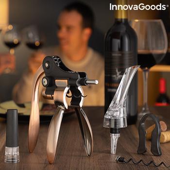 Zestaw akcesoria do wina Servin InnovaGoods 5 sztuk tanie i dobre opinie ES (pochodzenie)