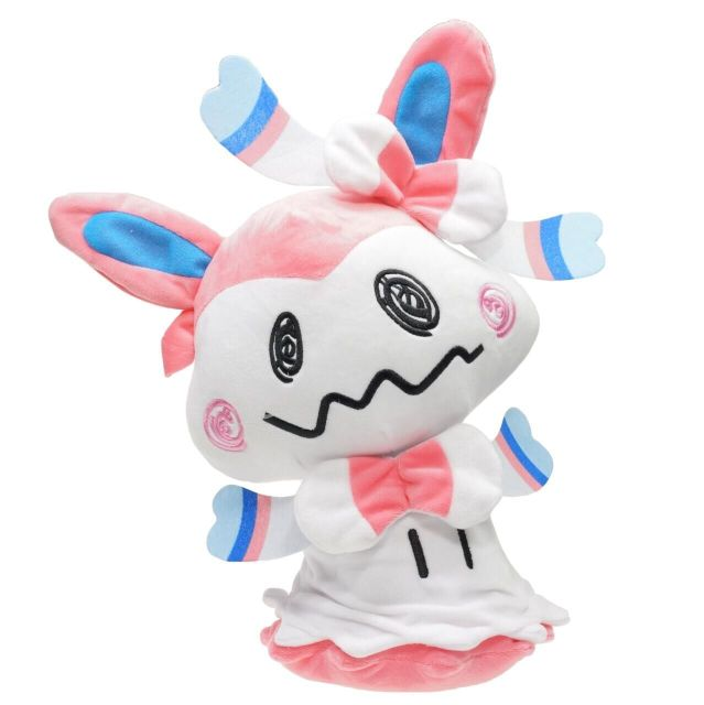 new 30cm plush Mimikyu Sylveon  lifelike cute hot toy stuffed soft doll good quality  gift for kid