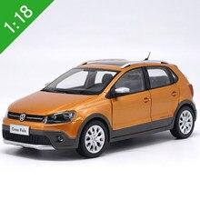 Caixa original 1:18 alta meticulosa vw 2012 2013 2016 pologti liga modelo carro estático metal veículos modelo para collectibles presente