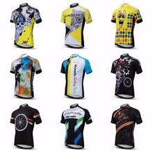 2019 Summer mountain road top cycling jersey Men's Bike jersey Pro Team MTB Shirts Maillot Ciclismo Tops Racing Bicycle jersey santic cycling jersey men pro racing team cycling skinsuit triathlon mountain road bike jersey one piece bicycle jersey ciclismo
