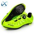 Дышащая легкая велосипедная обувь, Мужская профессиональная спортивная обувь для активного отдыха, велосипедная обувь для горного велосип...
