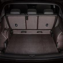 Full Surround Waterproof Carpets Durable Rugs Custom Special Car Trunk Mats for Mitsubishi ASX Pajero Outlander Grandi Lancer цена и фото