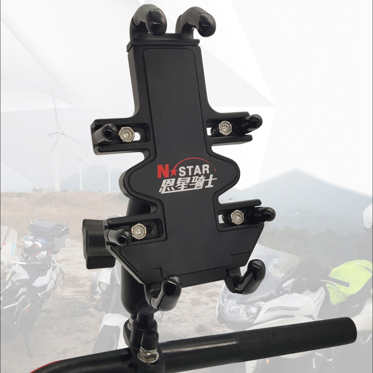 Motorcycle Phone Holder Walkie Talkie Holder Support Telephone Moto Trip Travel GPS Holder Bike Mobile Phone Support Stand Mount