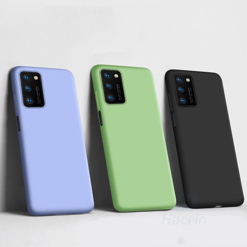 Original Liquid Silicone Case For Huawei Honor View 30 Pro Hoesje Cases On Huwei Honor V30 V 30 V30pro Honer V30pro Coque Cover