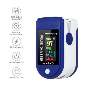 2021 nowy przenośny Oximetro cyfrowy pulsoksymetr palec OLED tętno krwi tlen serca zdrowie diagnostyczny Monitor oxymeter tanie i dobre opinie NoEnName_Null CN (pochodzenie) NONE Finger Oximeter Digital Fingertip Pulse Oximeter Blood Oxygen