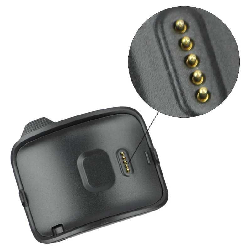 ALITER inteligente reloj negro cuna de carga de cargador Dock para Samsung Gear S SM-R750