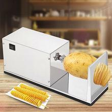 Электрическая кухонная спиральная машина для нарезки картофельных чипсов
