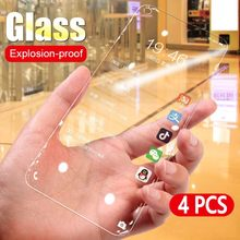 4pcs/Lot Tempered Glass Screen Protector For Samsung Galaxy A40 A50 A70 A30 A10 A20 A60 A80 A90 M30 M20 M40 Explosion Proof Film(China)