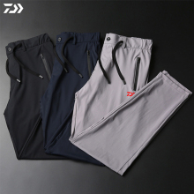 dawa, рыболовство, брюки, мужские уличные спортивные штаны, ледяной шелк, ультра-тонкие, дышащие, быстросохнущие, с защитой от ультрафиолета для рыбалки, одежда