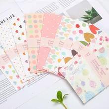 150 шт цветочный конверт розовый детский оконный Подарочный