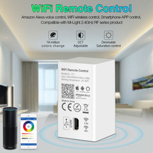 WiFi wireless Remote Control YT1 USB Led Amazon Alexa Voice Smartphone 4G App Control compatible 2.4G RF 5V miboxer yt1 remote wifi led controller amazon alexa voice control wifi wireless