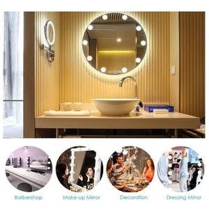 Image 4 - 2/6/10/14 шт., светодиодные лампы для зеркала для макияжа