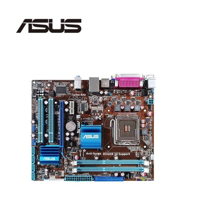 LGA775 For ASUS P5G41T M LX Original Used Desktop G41 775 Motherboard DDR3 USB2.0 SATA2|Motherboards| |  - title=