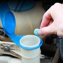 Nw10pcs/pacote (1 pçs = 4l água) limpador de carro sólido fino seminoma limpador de janela auto limpeza carro pára brisa vidro mais limpo acessórios do carro