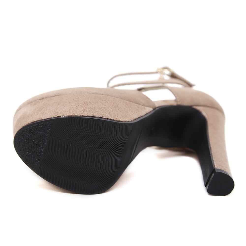 2020 חדש אביב אופנה אישה קיצונית יוקרה 13CM עקבים גבוהים להקת בלוק 4CM פלטפורמת סטריפטיז פטיש משאבות לנשף מסיבת נעליים