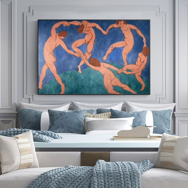 The Dance and Other Abstract Paintings by Henri Matisse Printed on Canvas 2