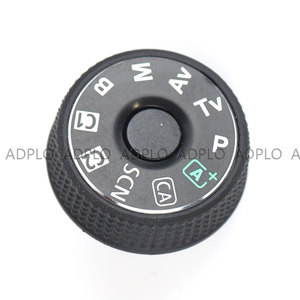 Image 3 - ADPLO SLR digital camera repair replacement parts  top cover mode dial for Canon EOS 6D
