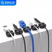 ORICO USB Kabel Wickler Draht Kabel Organizer Desktop Clips Kabel Management Kopfhörer Halter Für Maus Kopfhörer Lade Daten Linie