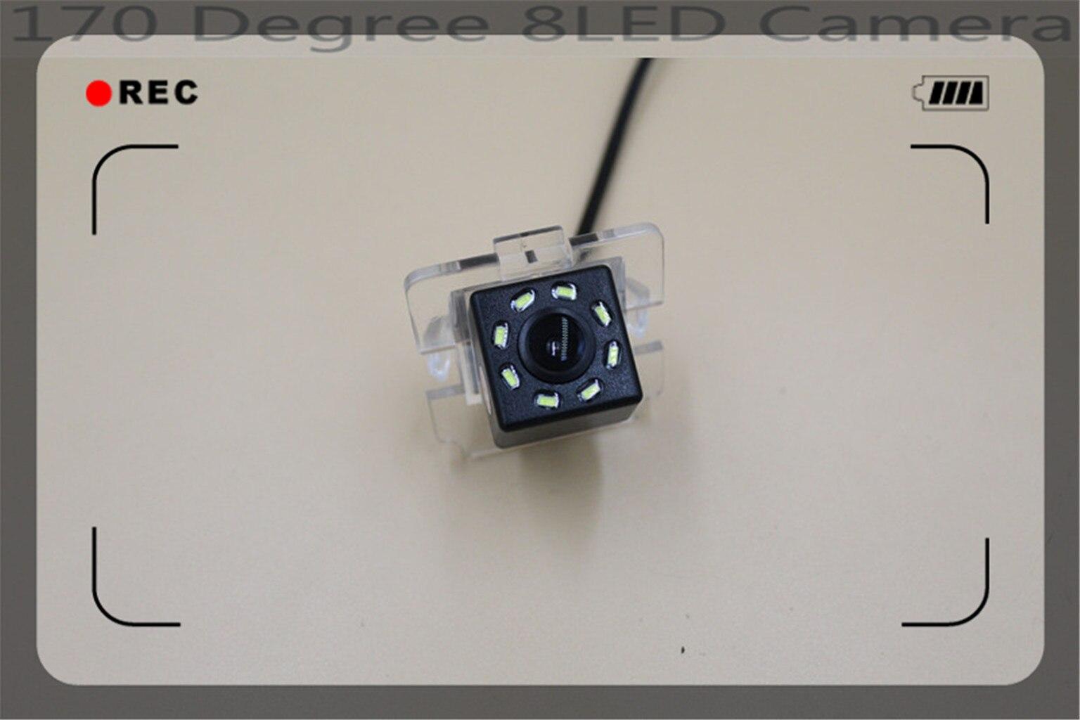 8LED 170 Degree Parking Car Rear View Camera For Mitsubishi Outlander 2003 - 2012 Reversing Car Camera