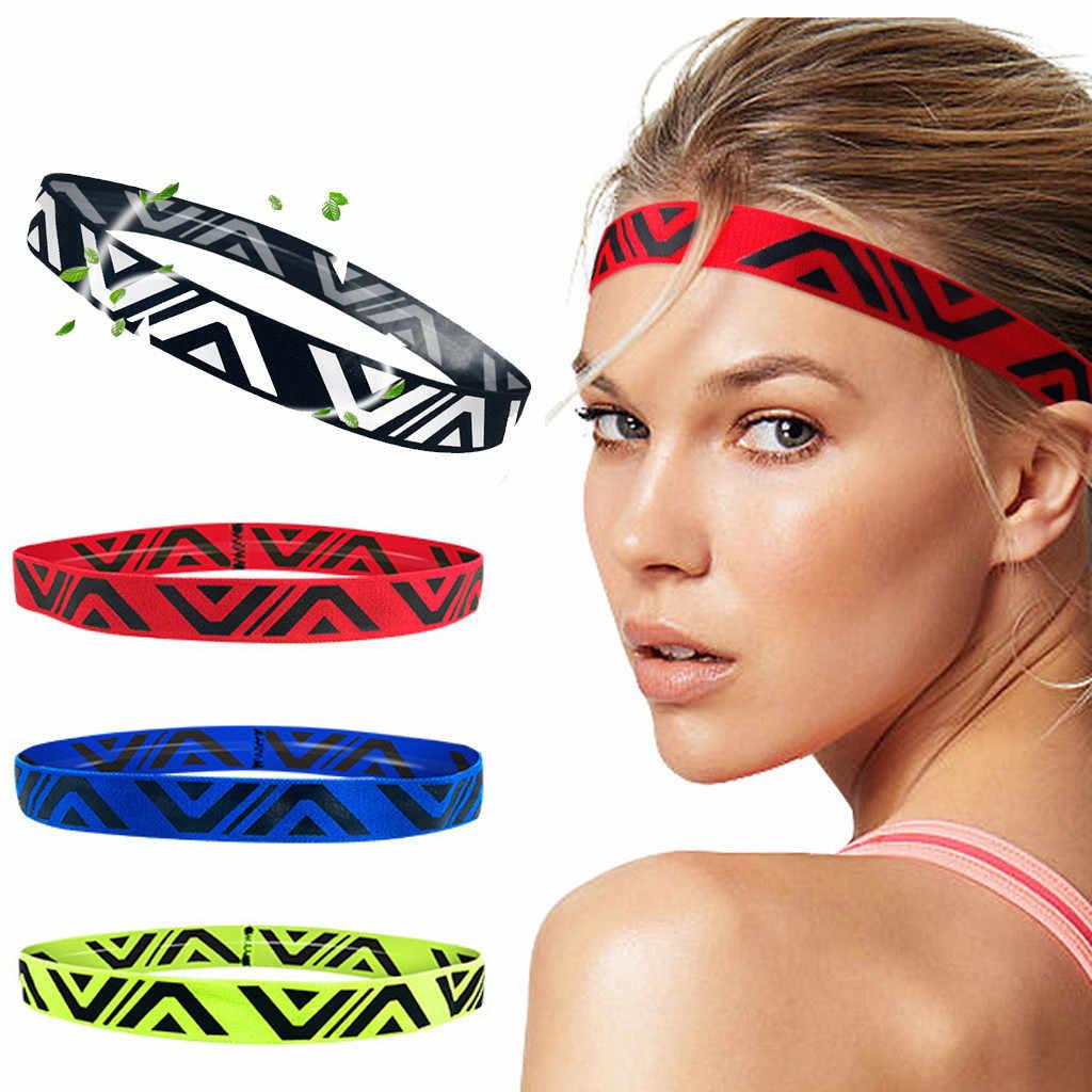 Унисекс впитывает пот повязка для волос для спорта для фитнеса, йоги, бега эластичная повязка на голову аксессуары для волос головной убор opaska