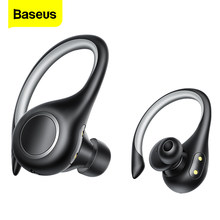 Baseus W17 TWS Bluetooth kulaklık kablosuz kulaklık 5.0 gerçek kablosuz kulaklık Stereo spor kulaklık kulak tomurcukları iPhone Xiaomi için