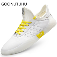 2019 new fashion men's shoes casual genuine leather male flats sneakers white shoe man height increasing platform shoes for men forudesigns women fashion high top flats shoes cool skull design female height increasing platform shoes for teenage girls shoes