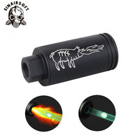 Airsoft Tracer Lighter S 14mm/10mm Spitfire effect with Fluorescence Tracer Unit for Paintball Shooting Rifle Pistol Auto Tracer