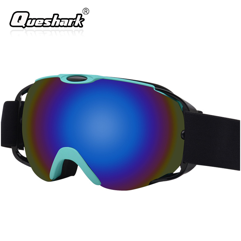 Anti-fog Ski Goggles Double-layer Anti-snow Blindness Anti-sand Ski Snowboard Glasses