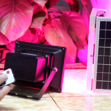 цены 18W RGB Solar Lamps with light-dependent control RGB full colour automatic color changing solar Garden Light  Landscape light
