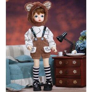 Image 4 - חדש סו בובת BJD SD 1/6 YoSD גוף דגם ילדים צעצועי גבוהה באיכות שרף דמויות חמוד מתנה Luodoll OB11