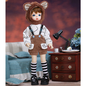 Image 4 - New Soo Doll BJD SD 1/6 YoSD Body Model Children Toys High Quality Resin Figures Cute Gift Luodoll OB11