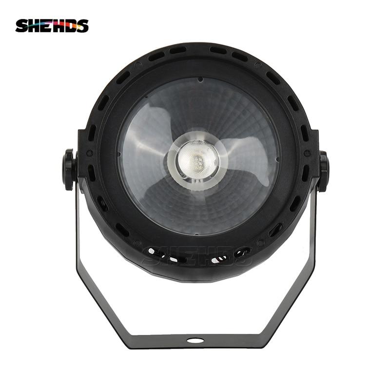 SHEHDS éclairage conception LED Par COB 30W RGB DMX512 effet de scène éclairage bon pour DJ Disco fête d'anniversaire décoration de mariage