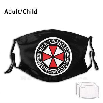 Ubcs Standard Patch Adult Kids Anti Dust Filter Diy Mask Re3 Remake Ubcs Umbrella Corporation Nemesis Biohazard Raccoon City