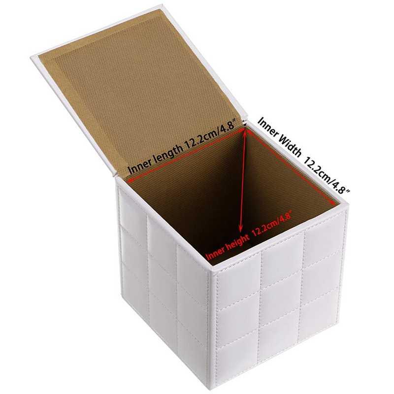 organizador de servilletas con fondo magn/ético Soporte cuadrado de cuero para caja de pa/ñuelos hotel cubo inodoro dispensador de papel de bombeo//pa/ñuelos faciales//toallitas h/úmedas para el hogar