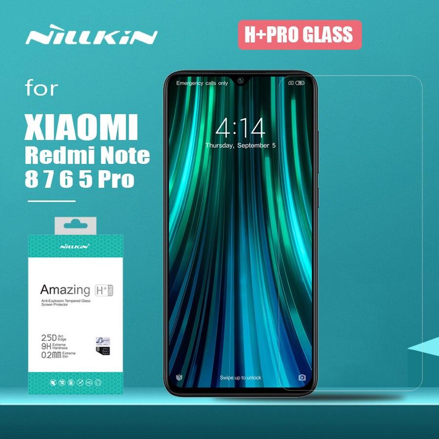 Für Xiao mi Red mi Hinweis 8 7 6 5 Pro Glas Nillkin H + Pro Gehärtetem Glas Screen Protector für Xiao mi mi 9 Lite 8 9T Pro mi 9 SE Glas